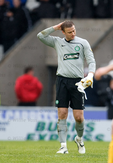 Artur Boruc troops off at the end