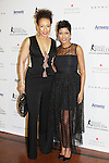 Tamara Tunie - As The World Turns and Tamron Hall at The 11th Annual Skating with the Stars Gala - a benefit gala for Figure Skating in Harlem  on April 11, 2016 on Park Avenue in New York City, New York with many Olympic Skaters and Celebrities. (Photo by Sue Coflin/Max Photos)