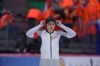 SPEEDSKATING: HAMAR: Vikingskipet, 28-02-2020, ISU World Speed Skating Championships, Sprint, 500m Men, Hendrik Dombek (GER), ©photo Martin de Jong