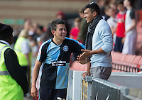 Luke O'Nien of Wycombe Wanderers after the Sky Bet League 2 match between Leyton Orient and Wycombe Wanderers at the Matchroom Stadium, London, England on 19 September 2015. Photo by Andy Rowland.