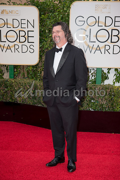 "Ronald D. Moore, Golden Globe nominees for BEST TELEVISION DRAMA for ""Outlander"", arrives at the 73rd Annual Golden Globe Awards at the Beverly Hilton in Beverly Hills, CA on Sunday, January 10, 2016. Photo Credit: HFPA/AdMedia"
