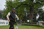 Angel Cabrera after teeing off on the opening hole during the final round of the BMW PGA Championship at Wentworth Club, Surrey, England 27th May 2007 (Photo by Eoin Clarke/NEWSFILE)