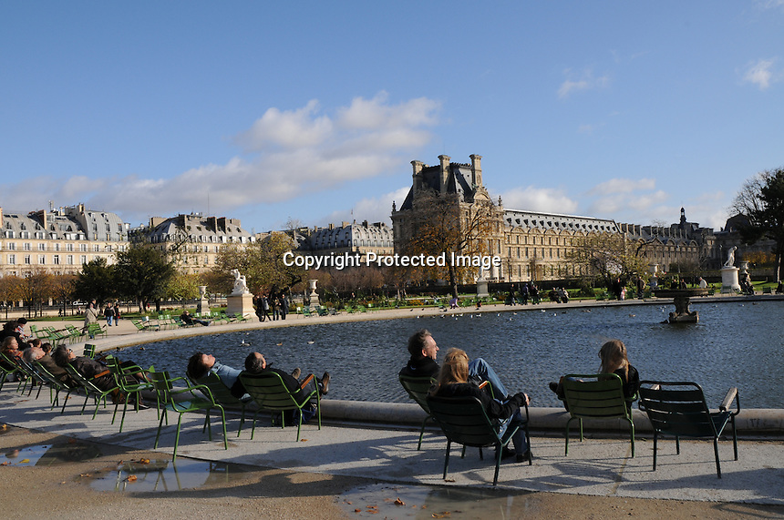 Paris, Tuileries Gardens