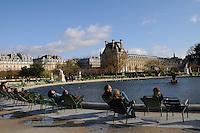 Paris, Tuileries Gardens