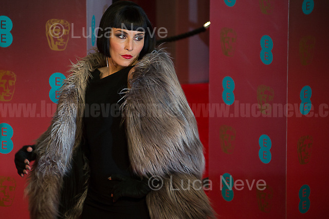 Noomi Rapace.<br /> <br /> London, 12/02/2017. Red Carpet of the 2017 EE BAFTA (British Academy of Film and Television Arts) Awards Ceremony, held at the Royal Albert Hall in London.<br /> <br /> For more information please click here: http://www.bafta.org/