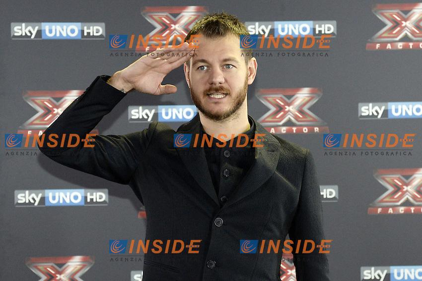 Db Milano 26/10/2016 - photocall trasmissione Tv 'X-Factor' / foto Daniele Buffa/Image/Insidefoto <br /> nella foto: Alessandro Cattelan