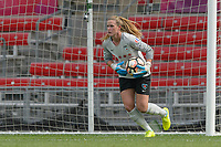 Bridgeview, IL - Sunday June 04, 2017: Alyssa Naeher during a regular season National Women's Soccer League (NWSL) match between the Chicago Red Stars and the Seattle Reign FC at Toyota Park. The Red Stars won 1-0.