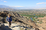 woman hiking near Mt. Eisenhower in Palm Desert