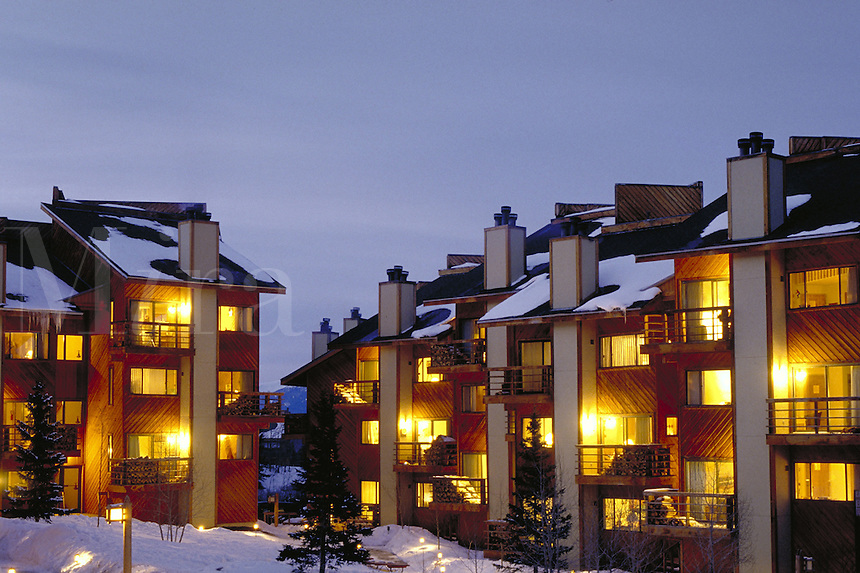 Pine Ridge Condominiums, exterior, Breckenridge, CO. Breckenridge, Colorado.