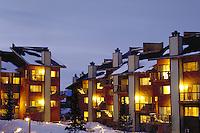Pine Ridge Condominiums, exterior, Breckenridge, CO. Breckenridge, Colorado.