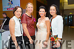 l-r Marie O'Connor, Jean Leahy, Lilly Summers and Mary Wolfe from Athea and Abbeyfeale at Fashion Soirée Ladies Day Fashion and Autumn Winter 2015 Collection In aid of Kerry Cancer Support Group at Manor West Hotel on Friday