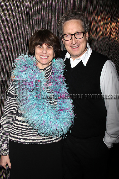 Margo Lion and Bernard Telsey attending the final Broadway Performance after party for HAIRSPRAY ( The winner of Eight Tony Awards, finishing it's run of 2.641 performances as the 19th Longest-running show in Broadway History ) at ARENA in New York City.<br />