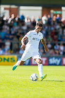 Kyle Naughton of Swansea City in action during the Pre Season friendly match between Swansea City and Rovers played at the Memorial Stadium, Bristol on July 23rd 2016