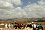 Samaria, a view of Shomron Valley and Sebastia from Shavei Shomrin