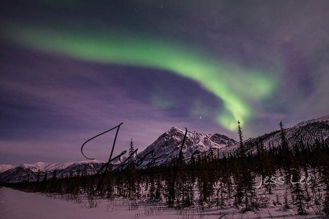 Northern Lights, aurora from Alaska photography