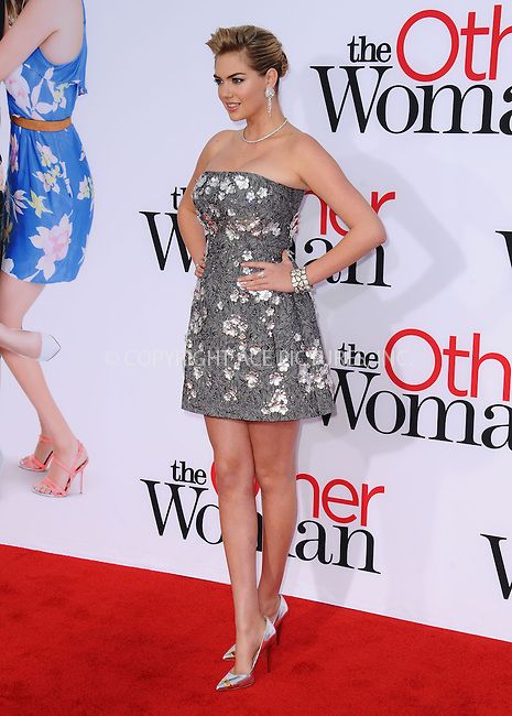 WWW.ACEPIXS.COM<br /> <br /> April 21 2014, LA<br /> <br /> Actress Kate Upton arriving at the 'The Other Woman' - Los Angeles Premiere at the Regency Village Theatre on April 21, 2014 in Westwood, California.<br /> <br /> <br /> By Line: Peter West/ACE Pictures<br /> <br /> <br /> ACE Pictures, Inc.<br /> tel: 646 769 0430<br /> Email: info@acepixs.com<br /> www.acepixs.com