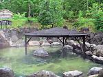 "Photo shows the ""rotenburo"" outdoor hot spring at Niseko-annupuri Onsen Yugokorotei in the Niseko ski region of Hokkaido, Japan on Feb. 5 2010."