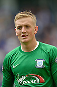 09/08/2015 Sky Bet League Championship Preston North End v Middlesbrough <br /> Jordan Pickford, Preston North End