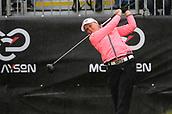 1st October 2017, Windross Farm, Auckland, New Zealand; LPGA McKayson NZ Womens Open, final round;  Canadas Brooke Henderson tees off