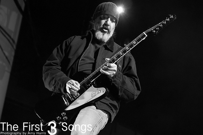 Kim Thayil of Soundgarden performs at the Klipsch Music Center in Indianapolis, IN.
