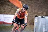 Annemarie Worst (NED)<br /> <br /> Women's Elite Race<br /> UCI 2020 Cyclocross World Championships<br /> Dübendorf / Switzerland<br /> <br /> ©kramon