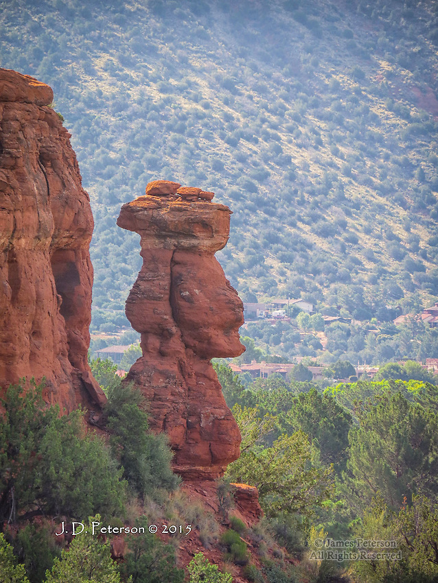 Easter Island in Sedona
