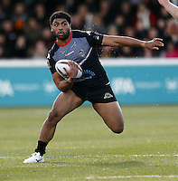 Mark Ioane in action for London during the Kingstone Press Championship game between London Broncos and Bradford Bulls at Ealing Trailfinders, Ealing, on Sun March 5, 2017