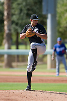 Chicago White Sox pitcher Tyler Johnson (61) delivers a pitch to the plate during an Instructional League game against the Los Angeles Dodgers on September 30, 2017 at Camelback Ranch in Glendale, Arizona. (Zachary Lucy/Four Seam Images)