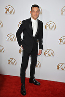 Rami Malek at the 2017 Producers Guild Awards at The Beverly Hilton Hotel, Beverly Hills, USA 28th January  2017<br /> Picture: Paul Smith/Featureflash/SilverHub 0208 004 5359 sales@silverhubmedia.com