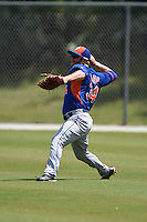 New York Mets Tucker Tharp (34) during practice before a minor league spring training game against the St. Louis Cardinals on April 1, 2015 at the Roger Dean Complex in Jupiter, Florida.  (Mike Janes/Four Seam Images)