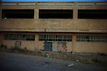 An former shopping center in the Yifran, a ghost town in Western Libya's Jebl Nafusa. ..Ayman Oghanna