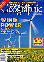 PRODUCT: MAgazine<br /> TITLE: <br /> CLIENT: Canadian Geographic