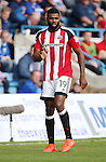 Sheffield United's Ethan Ebanks-Landell in action during the League One match at the Priestfield Stadium, Gillingham. Picture date: September 4th, 2016. Pic David Klein/Sportimage