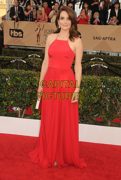 30 January 2016 - Los Angeles, California - Tina Fey. 22nd Annual Screen Actors Guild Awards held at The Shrine Auditorium.      <br /> CAP/ADM/BP<br /> &copy;BP/ADM/Capital Pictures