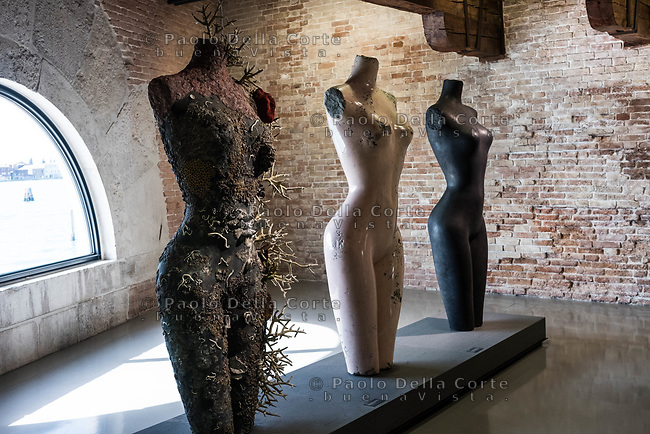"Venezia - Punta della Dogana . La mostra di Damien Hirst: ""Tresaures from the Wreck of Unbelievable."