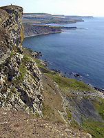 BNPS.co.uk (01202 558833)<br /> Pic: PhilYeomans/BNPS<br />  <br /> Spectacular God Cliff on the stunning Purbeck coast - The Jurrassic coast is a magnet for second home owners.<br /> <br /> Nine discounted homes have been built in one of the worst areas of the country for affordable housing, bringing fresh hope to local first-time buyers.<br /> <br /> The properties are being offered for sale at 75 per cent of the market price with a strict covenant in place that they can only be sold locals.<br /> <br /> And when the time comes for the owners to sell them on, the asking price must also be 25 per cent less than their true value.<br /> <br /> The properties have been built in the so-called ghost village village of Worth Matravers on the picturesque Isle of Purbeck in Dorset.<br /> <br /> Sixty per cent of the 180 houses in the village belong to second homeowners and lay empty most of the time.