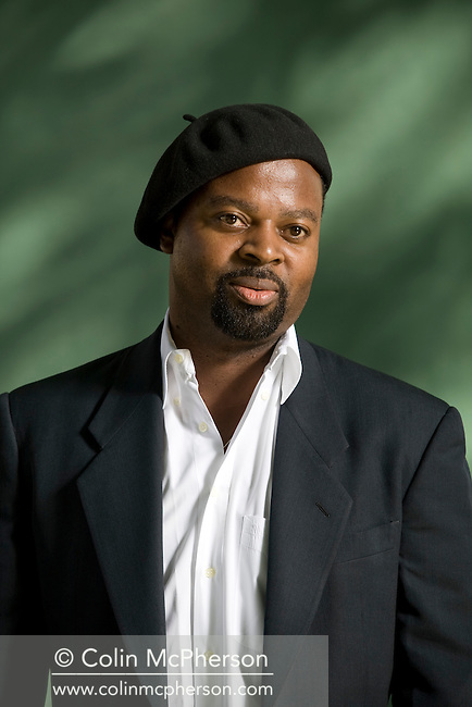 Award-winning Nigerian poet and novelist Ben Okri, pictured at the Edinburgh International Book Festival where he talked about his latest book entitled 'A Time for New Dreams.' The three-week event is the world's biggest literary festival and is held during the annual Edinburgh Festival. The 2011 event featured talks and presentations by more than 500 authors from around the world..