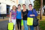 Josie Nolan, Killarney, Gemma Galvin, Killarney, Monica Kolek, Killarney , Christine Carroll, Killarney at the Kerry ETB  Education, Training and Opportunities fair  at the Brandon Hotel on Thursday