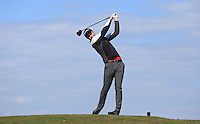 Robert Burlison  during Round Two of the West of England Championship 2016, at Royal North Devon Golf Club, Westward Ho!, Devon  23/04/2016. Picture: Golffile | David Lloyd<br /> <br /> All photos usage must carry mandatory copyright credit (&copy; Golffile | David Lloyd)