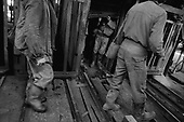 Vulcan, Transylvania<br /> Romania<br /> May 5, 1992<br /> <br /> Coal miners