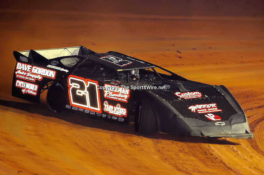 Jan 28, 2010; 6:20:01 PM; Waynesville, GA., USA; The Southern All Stars Racing Series running The Super Bowl of Racing VI at Golden Isles Speedway.  Mandatory Credit: (thesportswire.net)