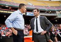 Washington, DC - May 31, 2014: D.C. United defeated Sporting Kansas City 1-0 at RFK Stadium.