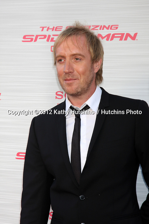 "LOS ANGELES - JUN 28:  Rhys Ifans arrives at the ""The Amazing Spider-Man"" Premiere at Village Theater on June 28, 2012 in Westwood, CA"