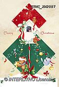 Marcello, CHRISTMAS ANIMALS, WEIHNACHTEN TIERE, NAVIDAD ANIMALES, paintings+++++,ITMCXM2087,#XA# ,birdhouse