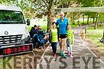 Endurance Festival : Fozzy Forristal, Listowel pictured with his son & daughter Aidan & Kelly having completed 100 miles in the Endurance Festival held in the Listowel Endurance Festival at the weekend.
