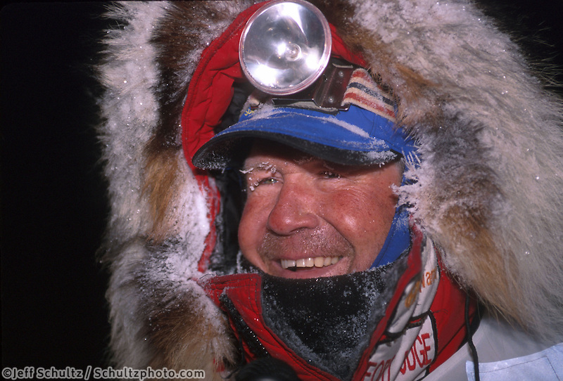 Portrait of Sonny King 2001 Iditarod Nome