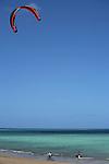 Kyte surf sur la Plage de Ngouja sud du lagon