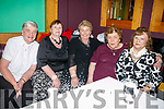 Enjoying the Fundraising Tea dance in aid of Kerry Cork Health Link Bus at River Island Hotel, Castleisland on Sunday were Maureen Sugrue, Margaret Sugrue, Eileen Cronin, Eileen Walsh Kathleen Myers