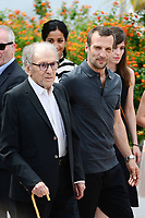 "22 May 2017 - Cannes, France - Jean-Louis Trintignant, Mathieu Kassovitz. ""Happy End"" Photocall - 70th Annual Cannes Film Festival held at Palais des Festivals. Photo Credit: Jan Sauerwein/face to face/AdMedia"