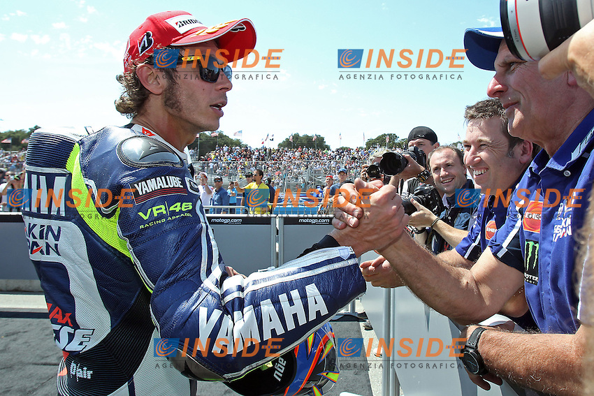 Valentino Rossi - Yamaha factory team<br /> <br /> 21-07-2013 Laguna Seca (USA)<br /> Motogp world championship<br /> Photo Semedia/Insidefoto<br /> ITALY ONLY